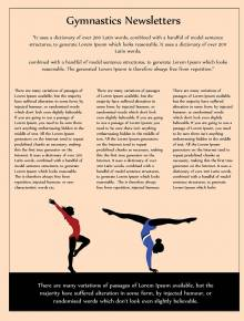 Gymnastics Newsletter