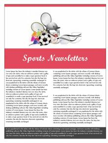 Free Printable Newsletters Newsletter Templates Email Newsletter - Paper newsletter templates