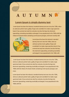 Autumn Newsletter Template