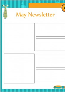 May Newsletter Template - Office