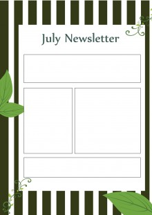 July Newsletters